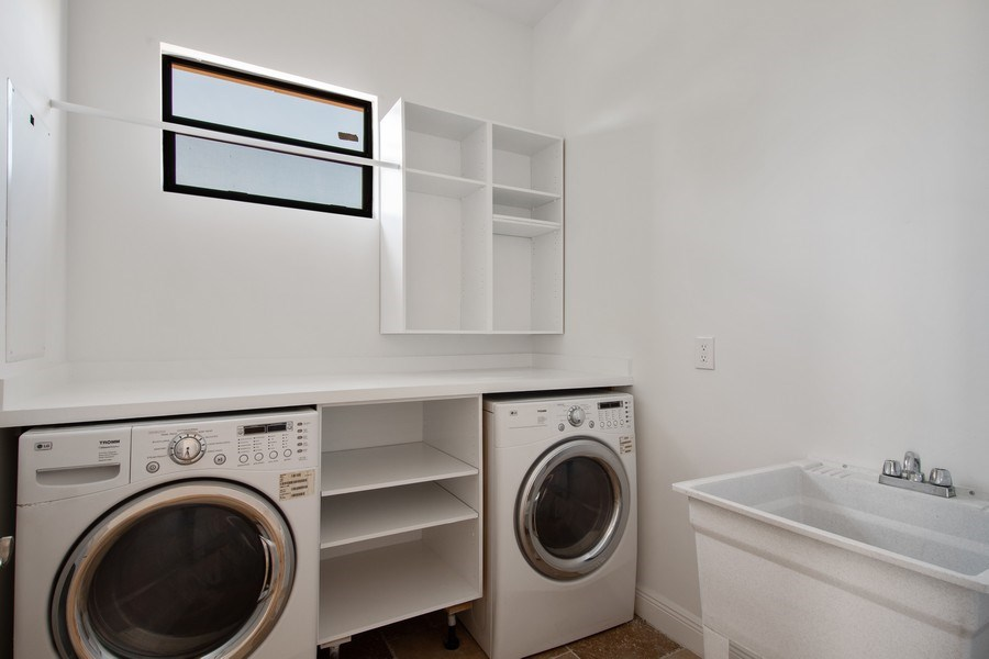 Real Estate Photography - 494 Segal Ave, Naples, FL, 34108 - Laundry Room