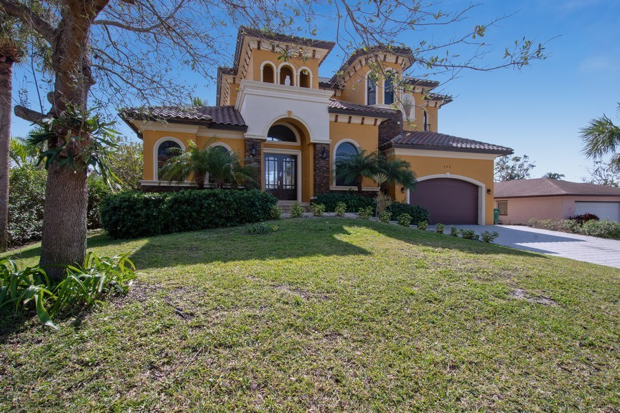 Real Estate Photography - 494 Segal Ave, Naples, FL, 34108 - Front View
