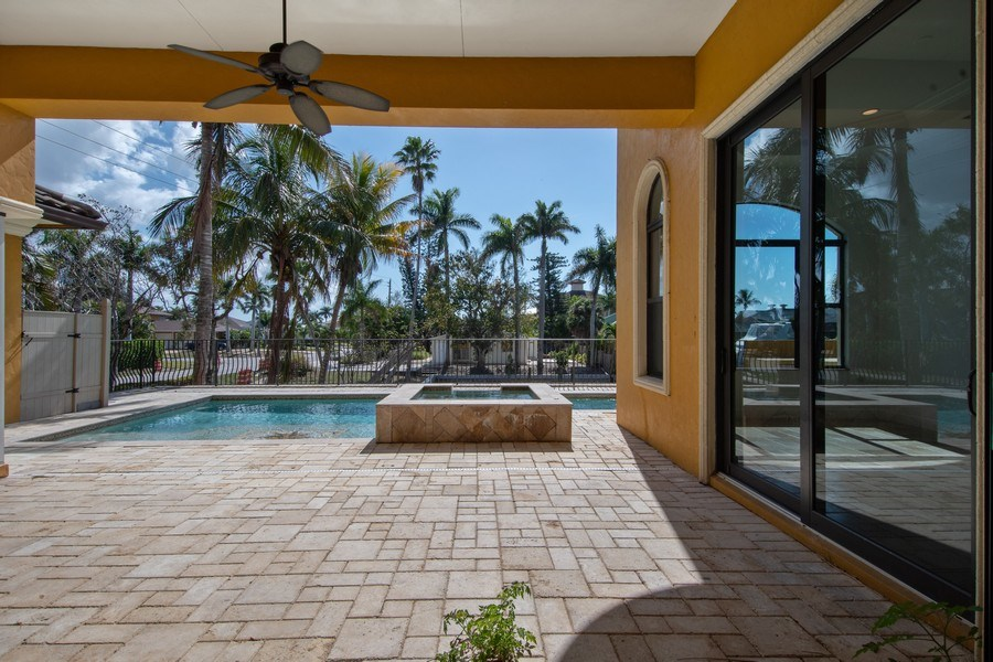 Real Estate Photography - 494 Segal Ave, Naples, FL, 34108 - Patio