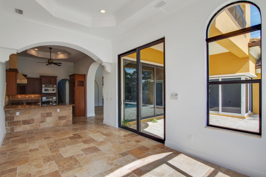 Real Estate Photography - 494 Segal Ave, Naples, FL, 34108 - Kitchen/Dining