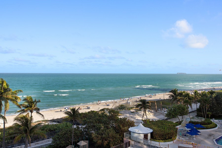 Real Estate Photography - 5225 Collins Ave, Unit 801, Miami Beach, FL, 33140 - View