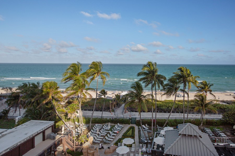 Real Estate Photography - 5225 Collins Ave, Unit 801, Miami Beach, FL, 33140 - Ocean View