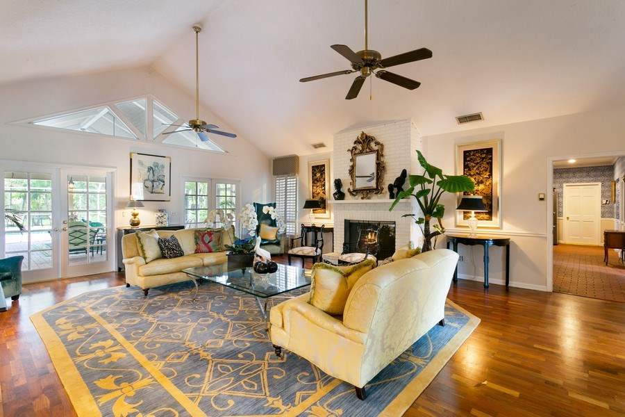 Real Estate Photography - 8373 Kelso Drive, Palm Beach Garden, FL, 33418 - Living Room