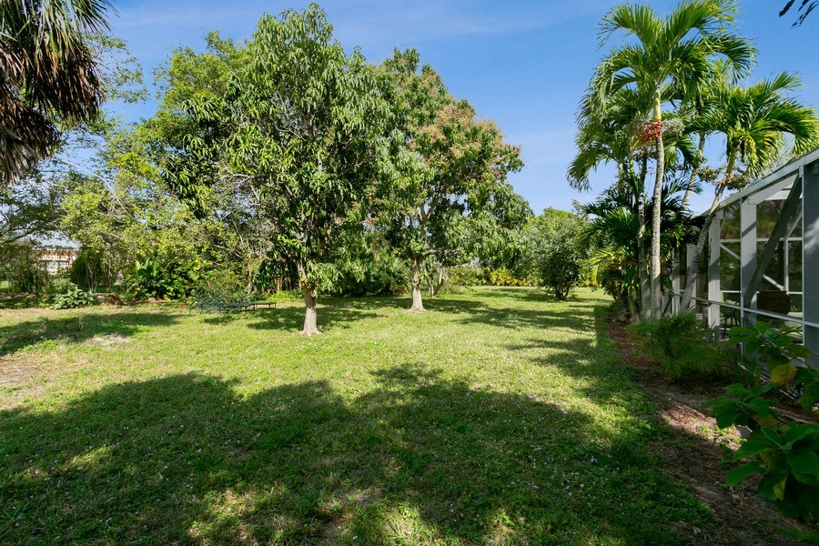 Real Estate Photography - 8373 Kelso Drive, Palm Beach Garden, FL, 33418 - Back Yard