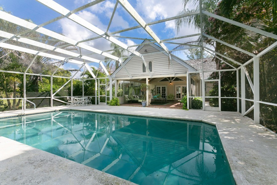 Real Estate Photography - 8373 Kelso Drive, Palm Beach Garden, FL, 33418 - Pool