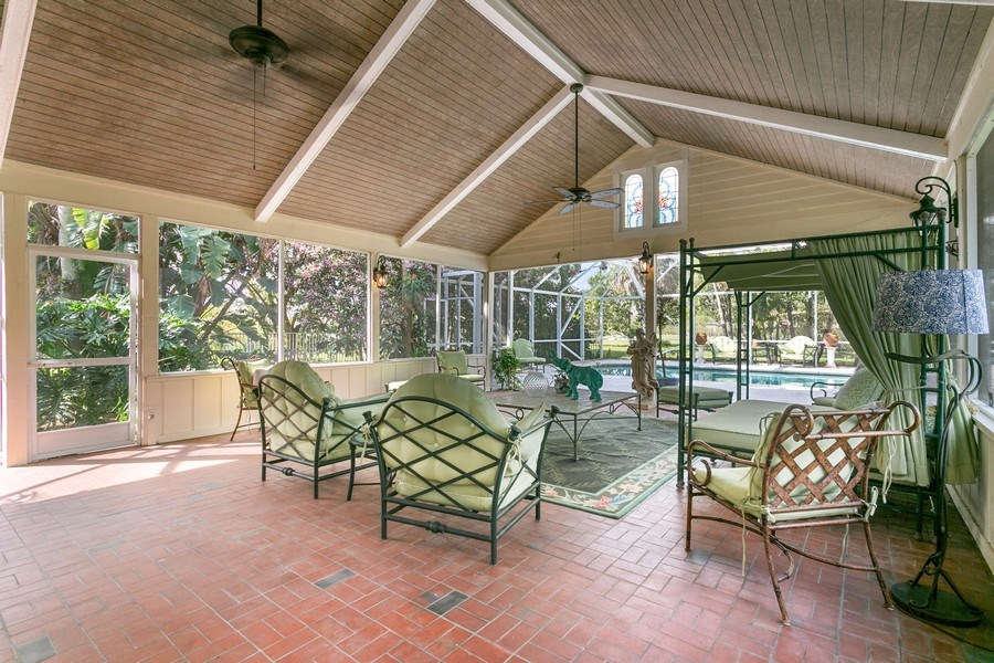 Real Estate Photography - 8373 Kelso Drive, Palm Beach Garden, FL, 33418 - Patio