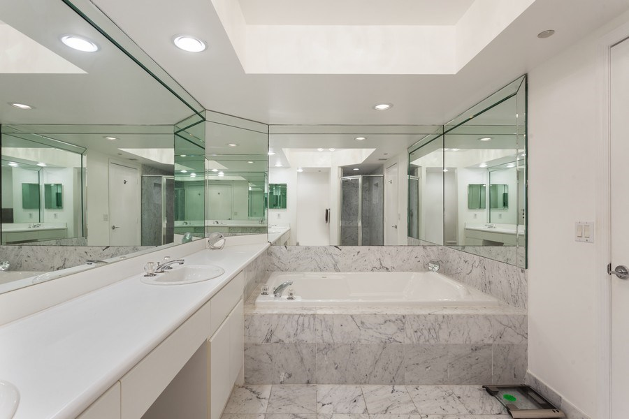 Real Estate Photography - 16400 Collins Ave, 1641, Sunny Isles Beach, FL, 33160 - Master Bathroom