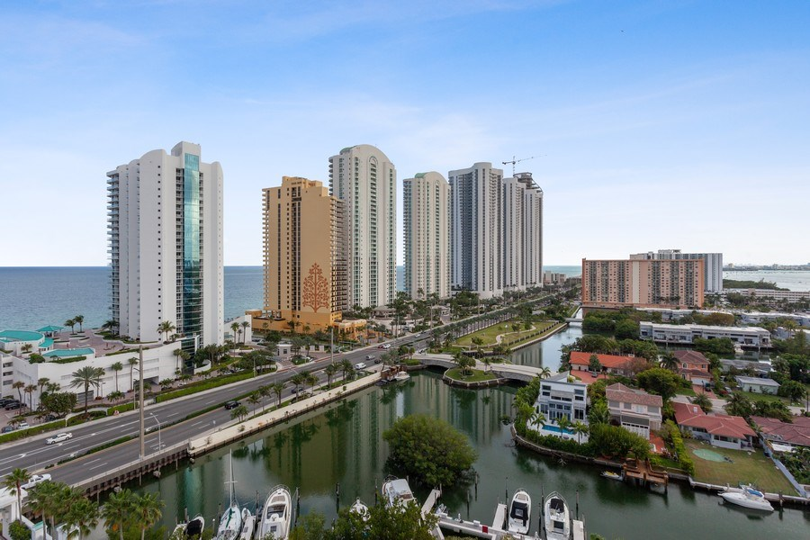 Real Estate Photography - 16400 Collins Ave, 1641, Sunny Isles Beach, FL, 33160 - View