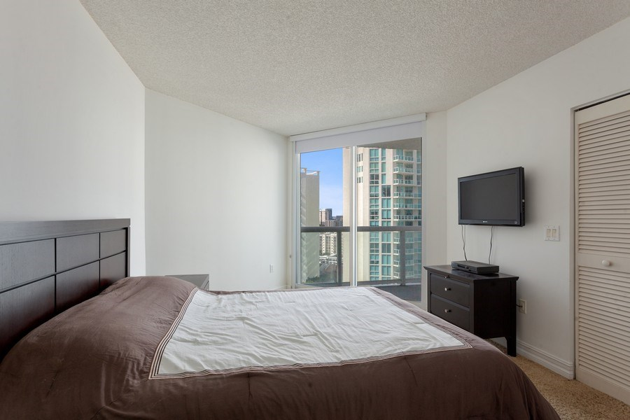 Real Estate Photography - 16400 Collins Ave, 1641, Sunny Isles Beach, FL, 33160 - Bedroom