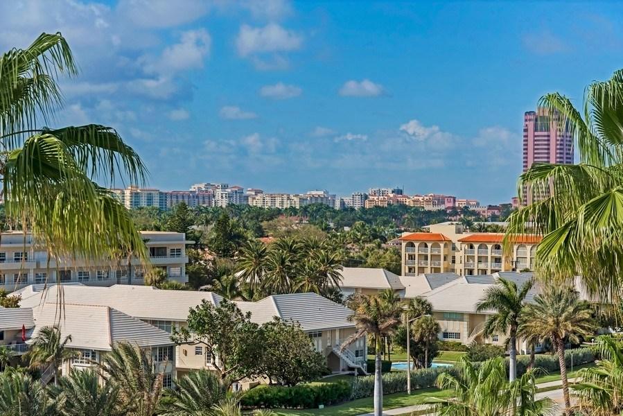Real Estate Photography - 1400 S Ocean Blvd, Unit N604, Boca Raton, FL, 33432 - City View