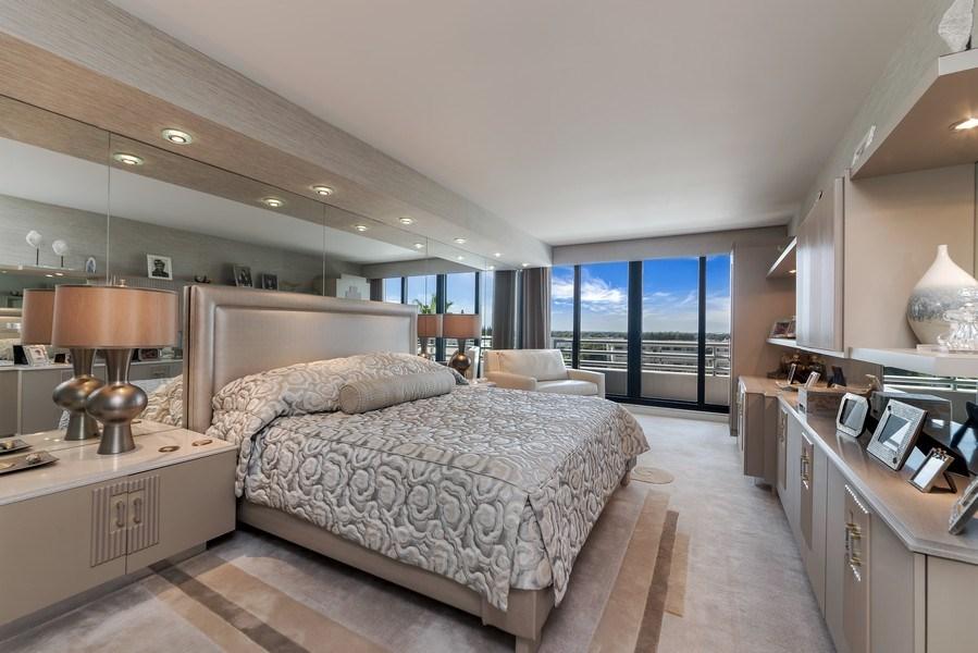 Real Estate Photography - 1400 S Ocean Blvd, Unit N604, Boca Raton, FL, 33432 - Master Bedroom
