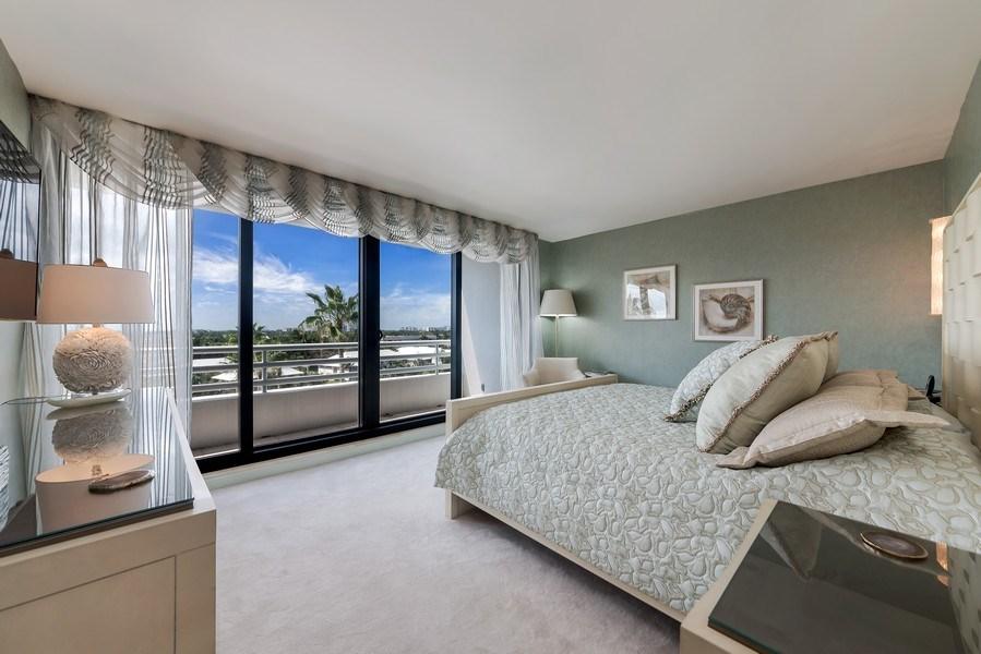 Real Estate Photography - 1400 S Ocean Blvd, Unit N604, Boca Raton, FL, 33432 - Bedroom