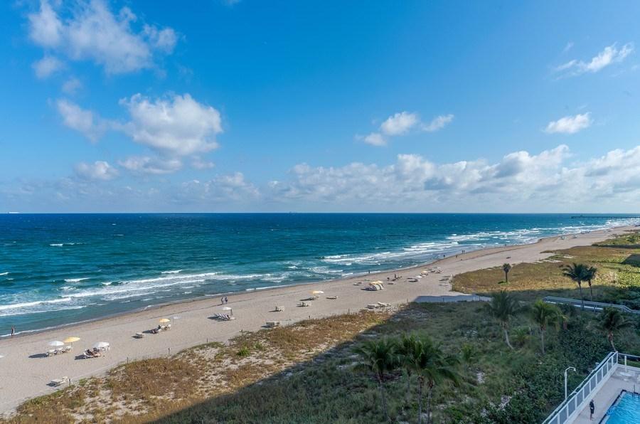 Real Estate Photography - 1400 S Ocean Blvd, Unit N604, Boca Raton, FL, 33432 - Ocean View