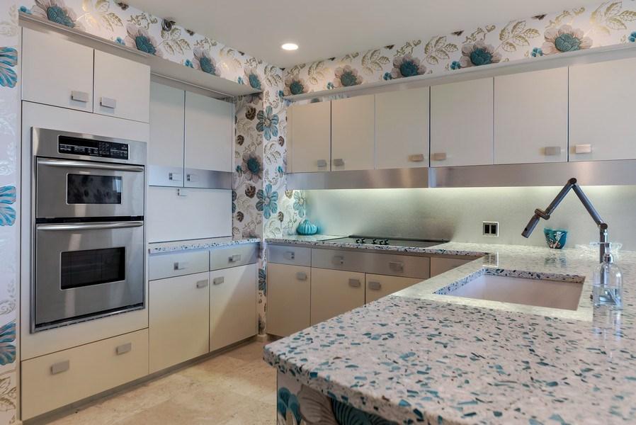 Real Estate Photography - 1400 S Ocean Blvd, Unit N604, Boca Raton, FL, 33432 - Kitchen