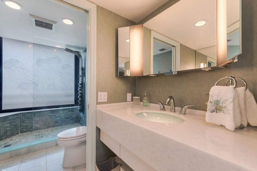 Real Estate Photography - 1400 S Ocean Blvd, Unit N604, Boca Raton, FL, 33432 - Bathroom