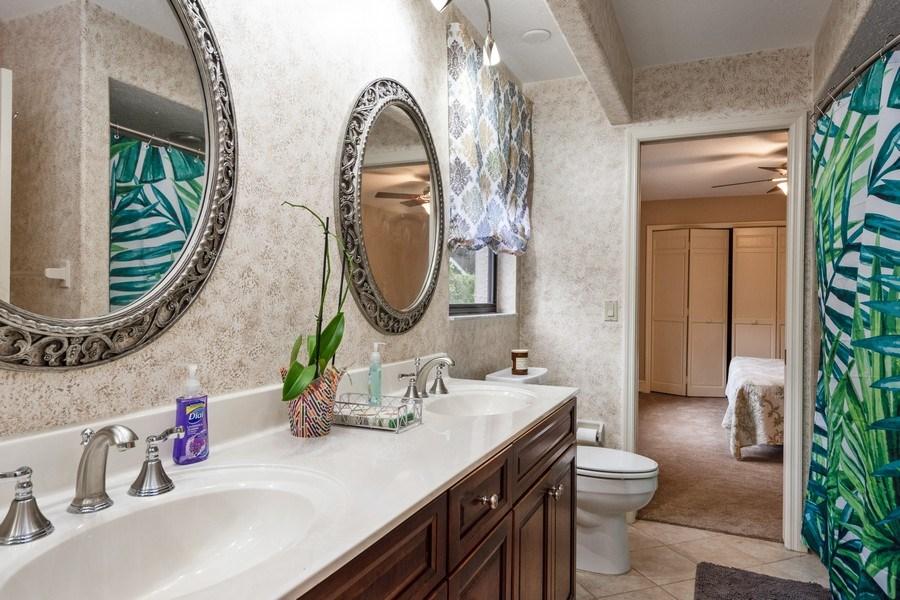 Real Estate Photography - 6513 Stonington South, Tampa, FL, 33647 - 3rd Bathroom