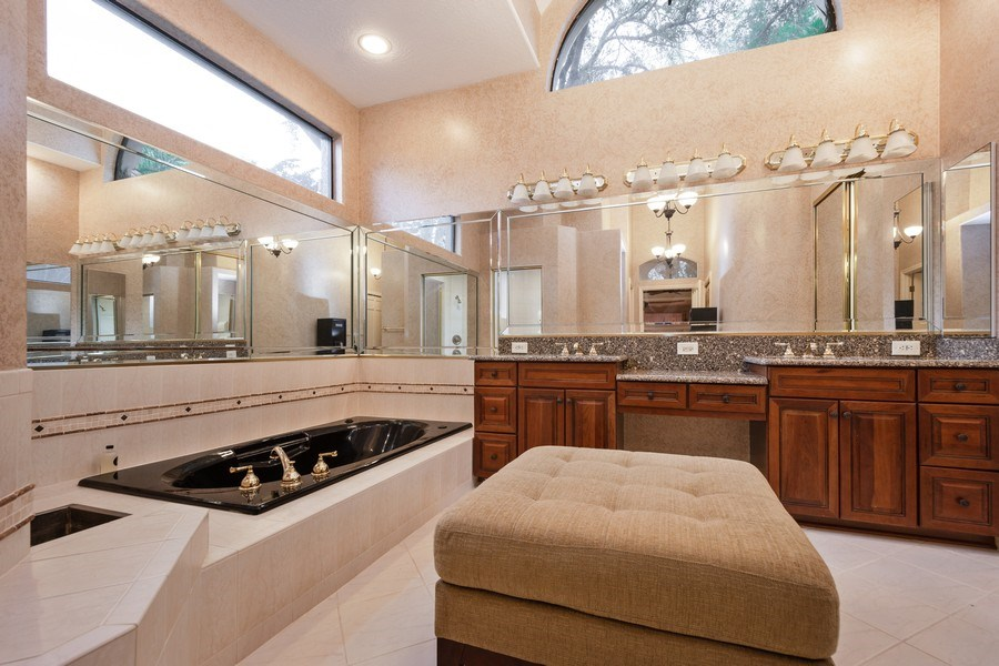 Real Estate Photography - 6513 Stonington South, Tampa, FL, 33647 - Master Bathroom