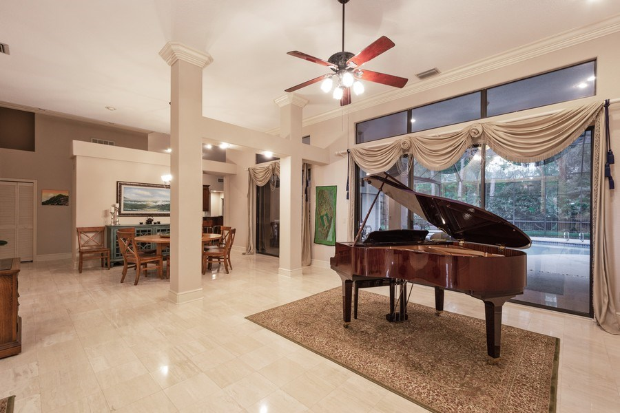 Real Estate Photography - 6513 Stonington South, Tampa, FL, 33647 - Living Room