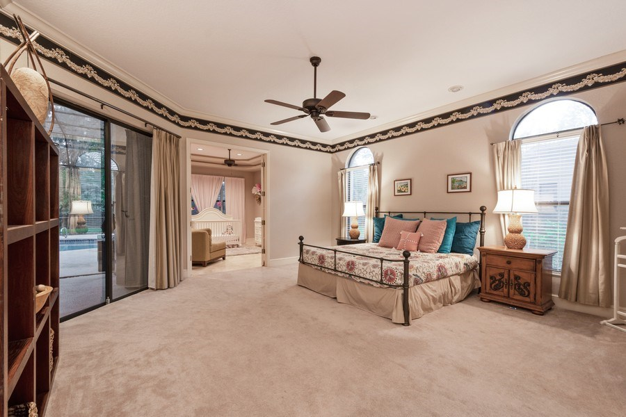 Real Estate Photography - 6513 Stonington South, Tampa, FL, 33647 - Master Bedroom