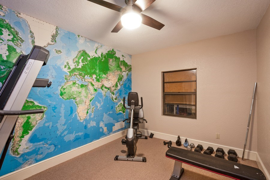 Real Estate Photography - 6513 Stonington South, Tampa, FL, 33647 - Exercise Room