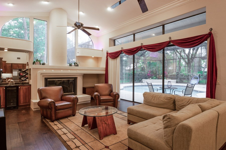 Real Estate Photography - 6513 Stonington South, Tampa, FL, 33647 - Family Room