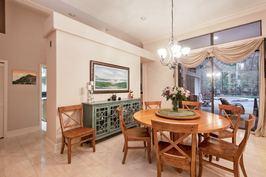 Real Estate Photography - 6513 Stonington South, Tampa, FL, 33647 - Dining Room