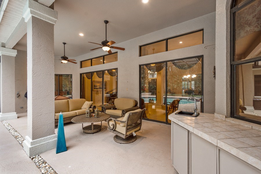 Real Estate Photography - 6513 Stonington South, Tampa, FL, 33647 - Patio