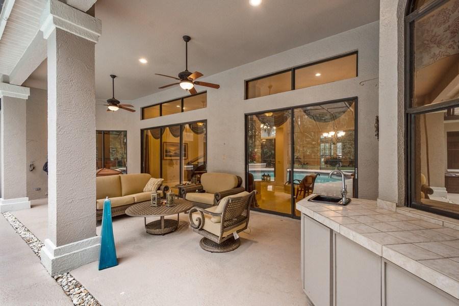 Real Estate Photography - 6513 Stonington South, Tampa, FL, 33647 - Patio