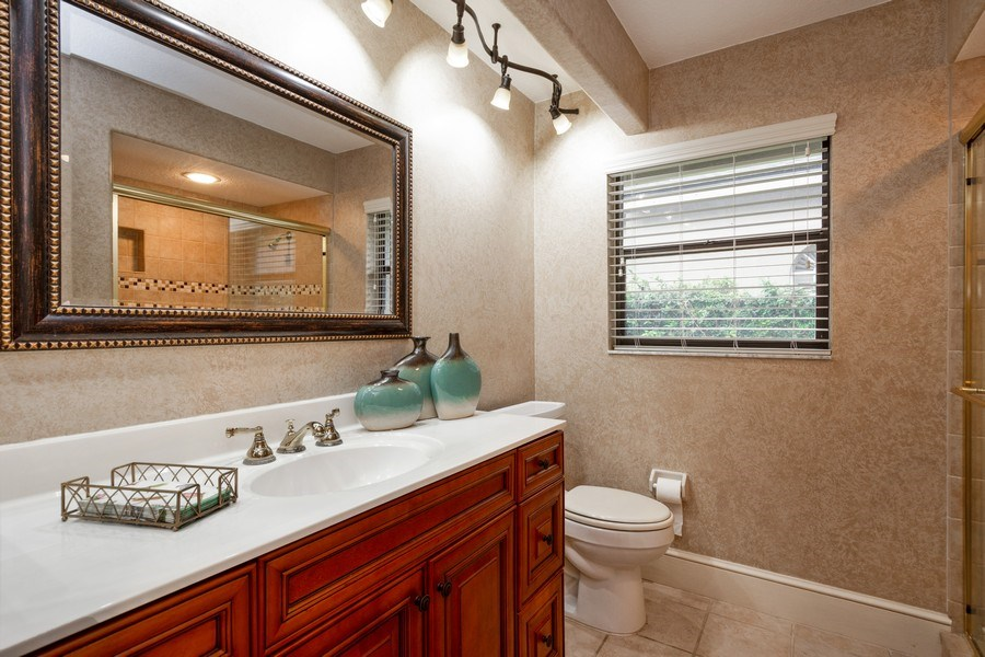 Real Estate Photography - 6513 Stonington South, Tampa, FL, 33647 - 2nd Bathroom