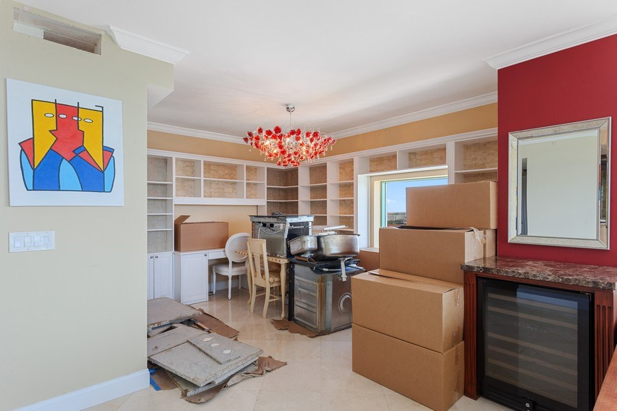 Real Estate Photography - 3350 SW 27th Ave, Unit 1907, Miami, FL, 33133 - Dining Room