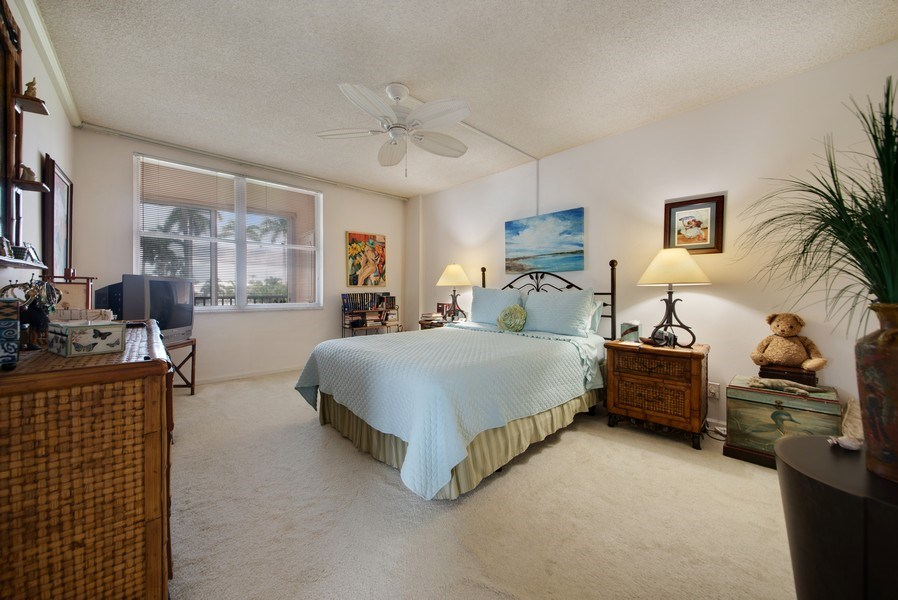 Real Estate Photography - 3224 S ocean Blvd, Apt 216B, Highland Beach, FL, 33487 - Master Bedroom