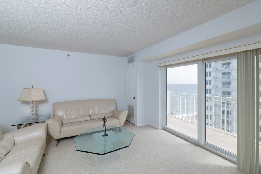 Real Estate Photography - 3215 S Ocean Blvd, Unit 707, Highland Beach, FL, 33487 - Living Room