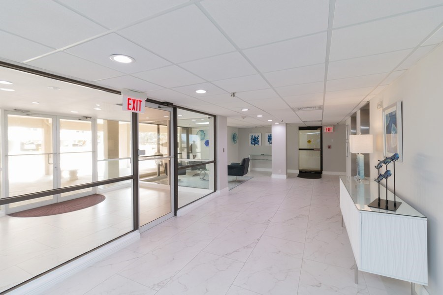 Real Estate Photography - 3215 S Ocean Blvd, Unit 707, Highland Beach, FL, 33487 - Lobby