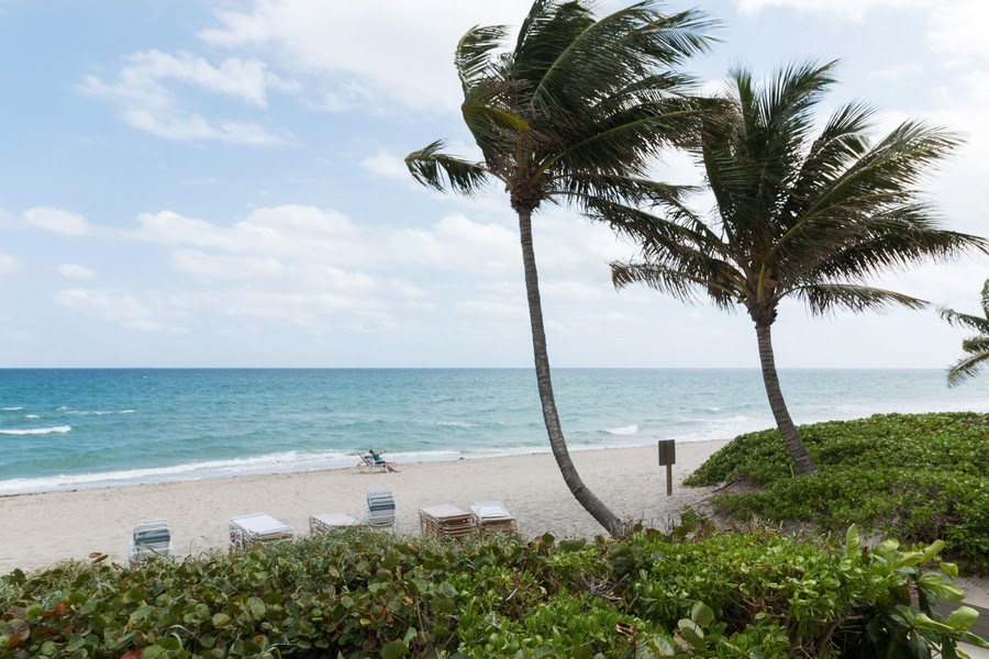 Real Estate Photography - 3215 S Ocean Blvd, Unit 707, Highland Beach, FL, 33487 - Beach