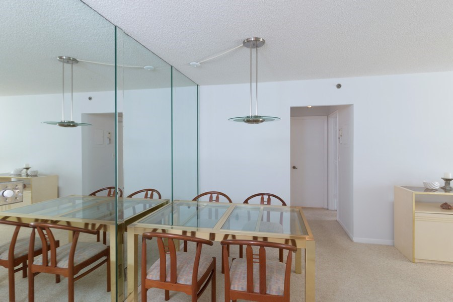 Real Estate Photography - 3215 S Ocean Blvd, Unit 707, Highland Beach, FL, 33487 - Dining Room