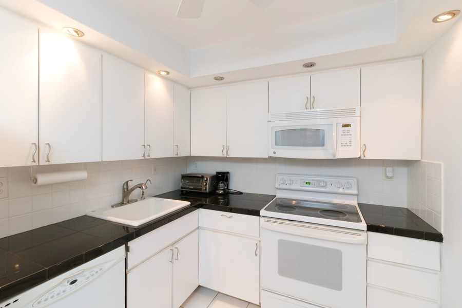 Real Estate Photography - 3215 S Ocean Blvd, Unit 707, Highland Beach, FL, 33487 - Kitchen