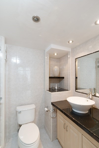 Real Estate Photography - 3215 S Ocean Blvd, Unit 707, Highland Beach, FL, 33487 - Bathroom