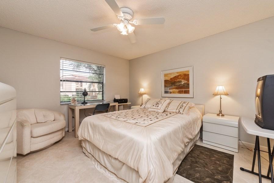 Real Estate Photography - 9284 Vista Del Lago, Unit C, Boca Raton, FL, 33428 - Bedroom