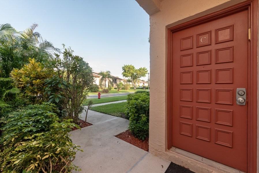 Real Estate Photography - 9284 Vista Del Lago, Unit C, Boca Raton, FL, 33428 - Entrance