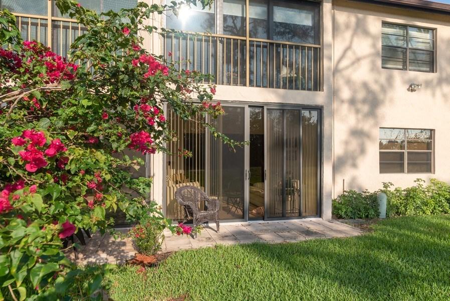 Real Estate Photography - 9284 Vista Del Lago, Unit C, Boca Raton, FL, 33428 - Rear View