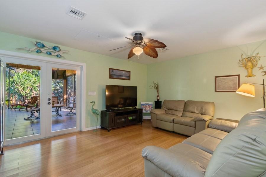 Real Estate Photography - 1324 NE 16 Terrace, Fort Lauderdale, FL, 33304 - Living Room