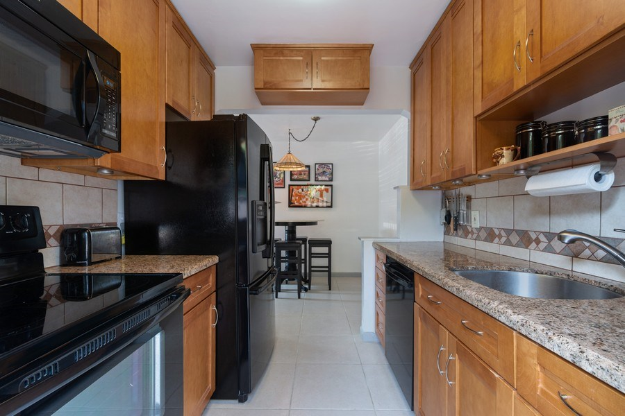 Real Estate Photography - 1324 NE 16 Terrace, Fort Lauderdale, FL, 33304 - Kitchen
