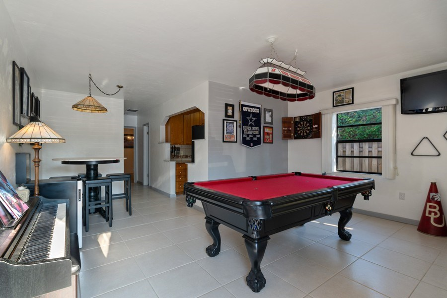 Real Estate Photography - 1324 NE 16 Terrace, Fort Lauderdale, FL, 33304 - Family Room