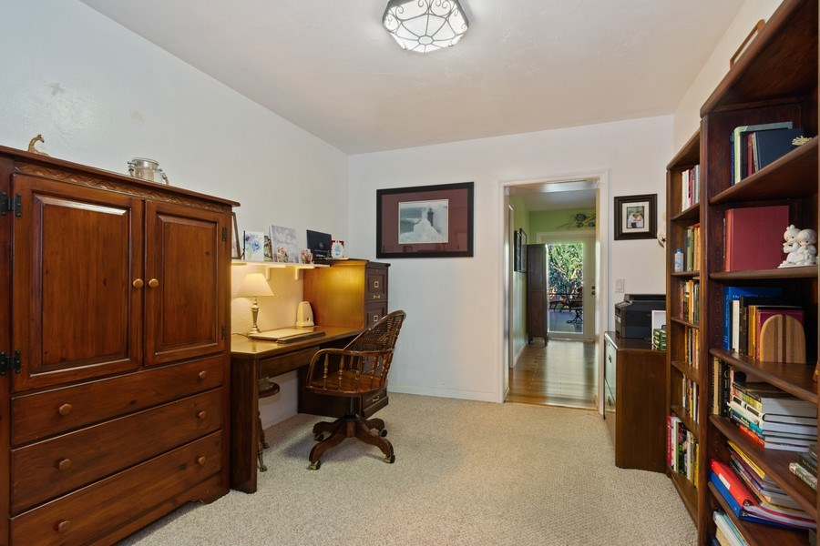Real Estate Photography - 1324 NE 16 Terrace, Fort Lauderdale, FL, 33304 - Office