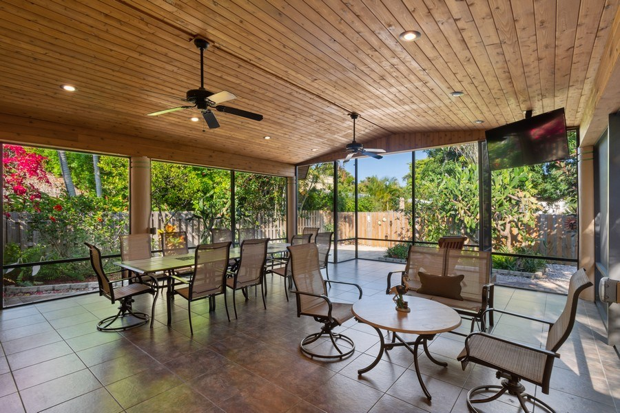 Real Estate Photography - 1324 NE 16 Terrace, Fort Lauderdale, FL, 33304 - Patio