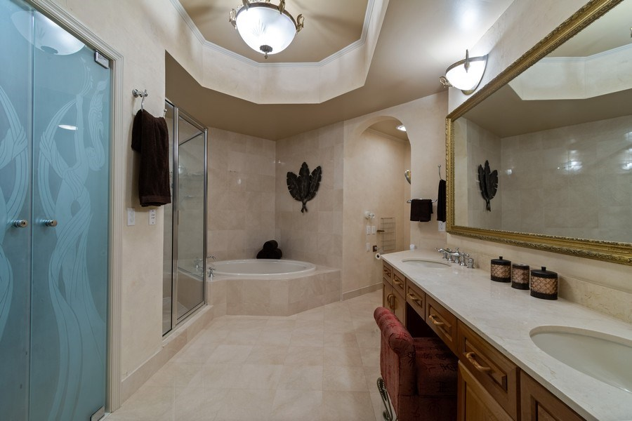 Real Estate Photography - 6051 N Ocean Dr, Unit 1703, Hollywood, FL, 33019 - Master Bathroom