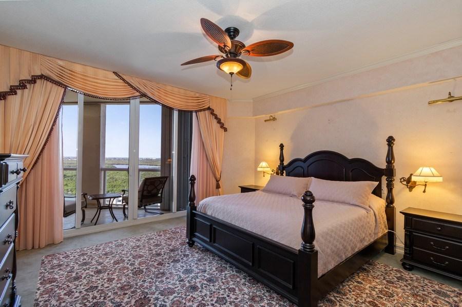 Real Estate Photography - 6051 N Ocean Dr, Unit 1703, Hollywood, FL, 33019 - Master Bedroom