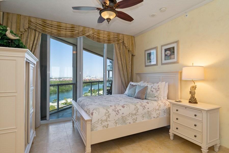 Real Estate Photography - 6051 N Ocean Dr, Unit 1703, Hollywood, FL, 33019 - Bedroom