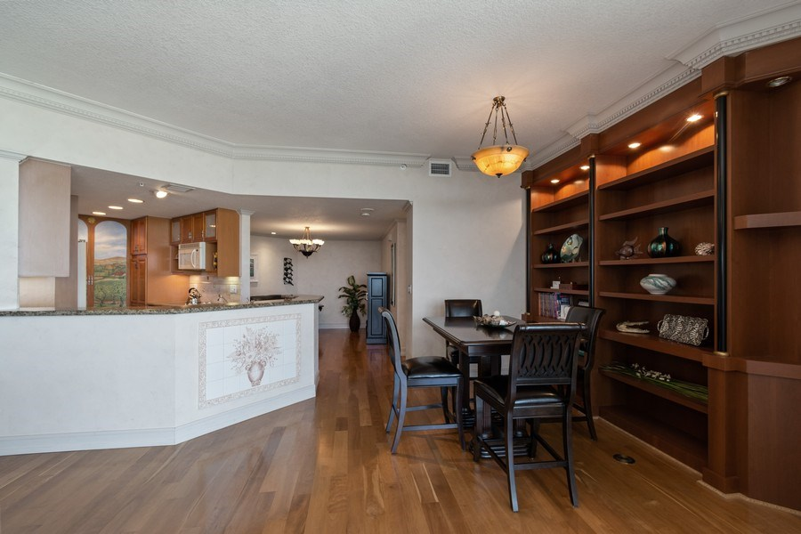 Real Estate Photography - 6051 N Ocean Dr, Unit 1703, Hollywood, FL, 33019 - Dining Room