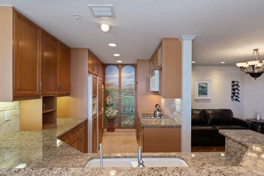 Real Estate Photography - 6051 N Ocean Dr, Unit 1703, Hollywood, FL, 33019 - Kitchen